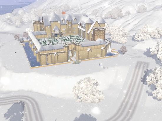 Зима в Шам Ле Сим-1