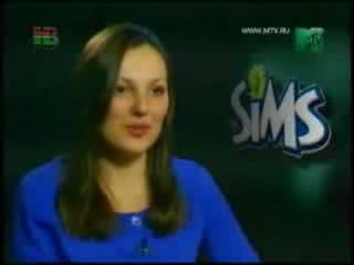 """Видеоролик. Телепередача MTV """"Икона видеоигр"""" об игре Симс 2"""