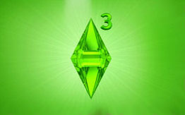 Заставка для рабочего стола в стиле Sims 3