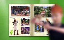 Скринсейвер для рабочего стола в стиле Sims 3