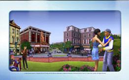 Панорамная заставка Sims 3