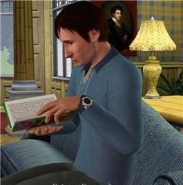 Сим актера Дэвид Духовны (David Duchovny) для игры Симс 3
