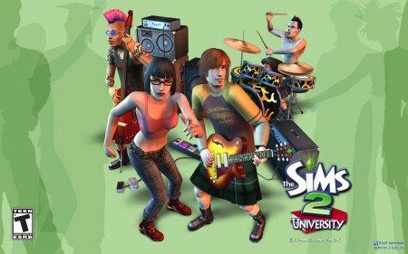 Обои от Sims 2