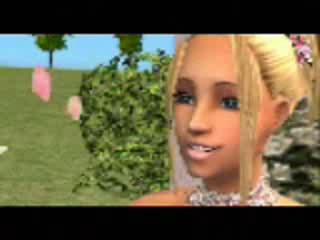 Видеоролик из Sims 2. Любовная история