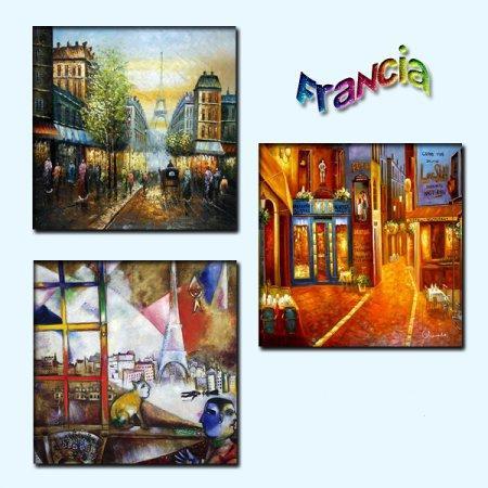 Картины Франции для Симс 3 в формате package