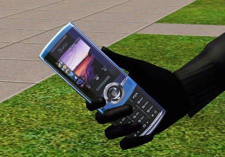 Сотовый телефон Samsung для Симс 3 в формате package