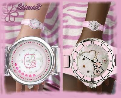 Наручные часы Kitty для Симс 3 в формате package