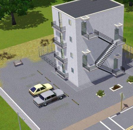 """Многоэтажный дом для Симс 3 в формате sims3pack """" The Sims - всё для игр Sims 4, Sims 3, sims 2, sims"""