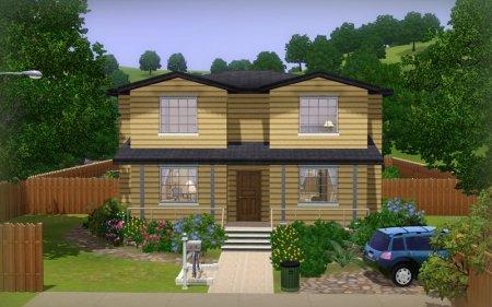 """Жилой дом """"Кемп Девлин"""" для Симс 3 в формат sims3pack"""