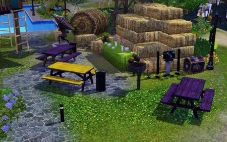 Стоуни-Фолз - общественный участок для Симс 3 в формате sims3pack