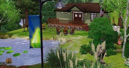Красочный парк для Симс 3 в формате sims3pack