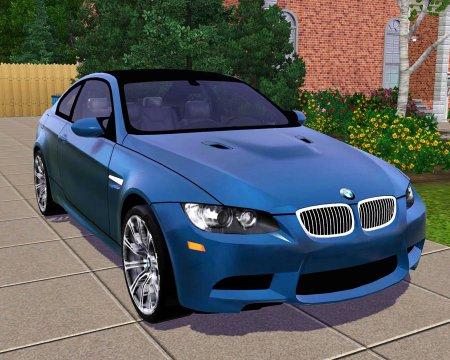 Автомобиль BMW M3 Coupe для Симс 3 в формате package