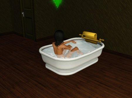 Большая ванна для Симс 3 в формате package