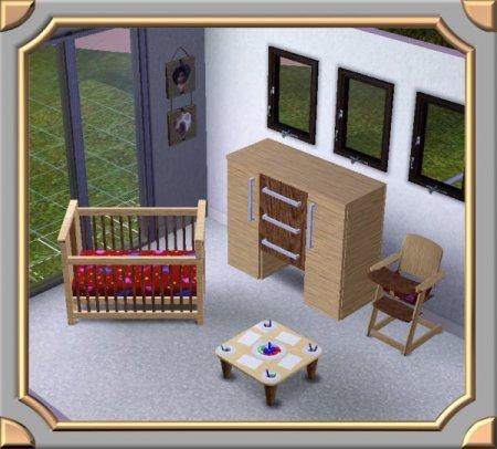 Мебель для детской комнаты (Симс 3) в формате sims3pack