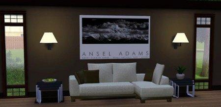 Мебель в стиле Modern для гостиной (Симс 3) в формате package