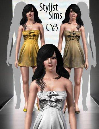 """Платья """"Suzette"""" для Симс 3 в формате sims3pack"""