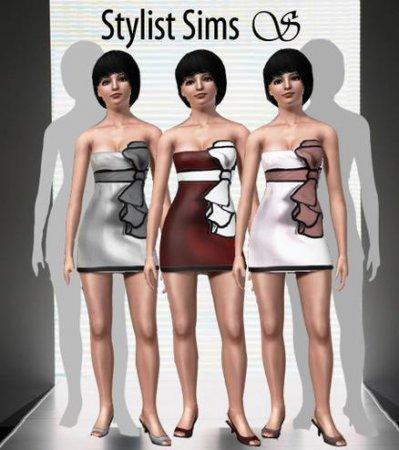 Платье для подростков для Симс 3 в формате sims3pack