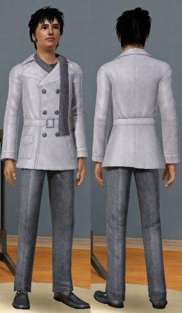 Комплект мужской верхней одежды для Симс 3 в формате sism3pack