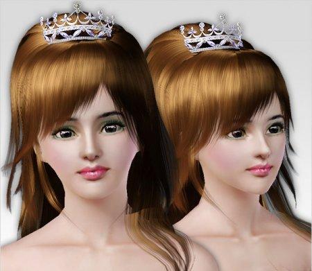 Великолепная корона принцессы для Симс 3 в формате package