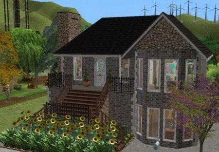 Небольшой домик в стиле Модерн