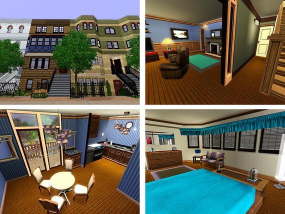 """Многоквартирный дом для Sims 3 """" The Sims - всё для игр Sims 4, Sims 3, sims 2, sims"""