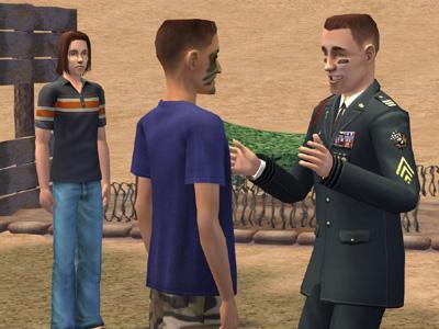 Картинки из игры The Sims 2