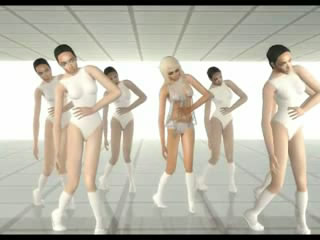 Видеоролик. Lady GaGa - Bad Romance (The Sims 2)