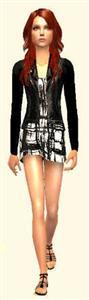 Женская одежда для Sims 2
