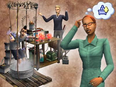Скриншоты для The Sims. Не судите строго!!!