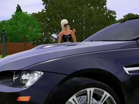 Симка Леди Гага (Lady Gaпa) для Sims 3 от Simsy