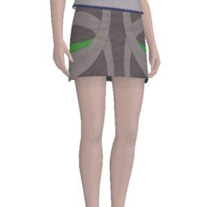 Необычная юбка для Sims 3