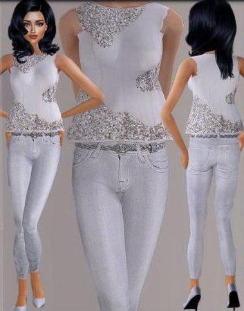 Изящный костюм для Sims 2