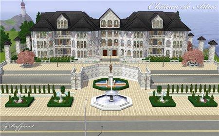 Замок для Sims 3