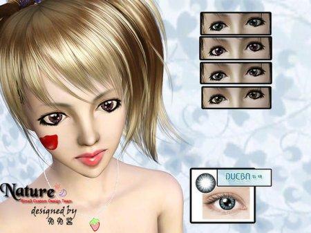 Линзы для Sims 3 в формате sims3pack