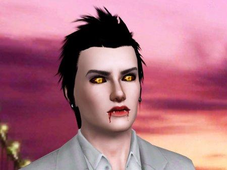 Вампир от J.D. для Sims 3