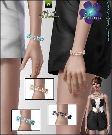 Браслет от Liana для симс 3 в формате package