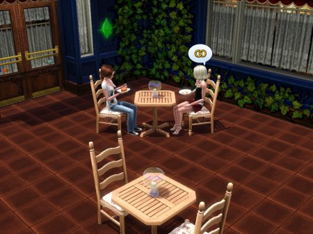 Sims-история от Nanami и LiNeIka. Глава 1
