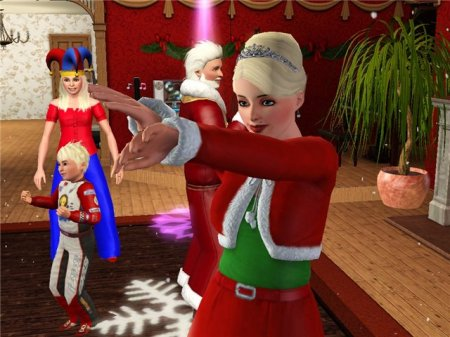 Sims-история. Новогодний вечер в Барнакл Бэй