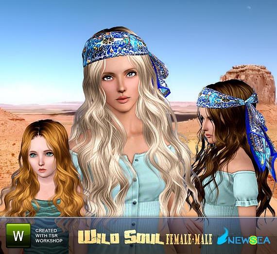 Скачать женские причёски для the sims 3