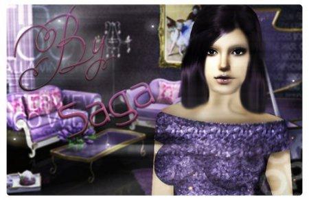 Сим-арт By  _Saga_ для Sims 2