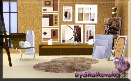 Студия (для рисования) от Skalkovski для The Sims 3 в формате sims3pack