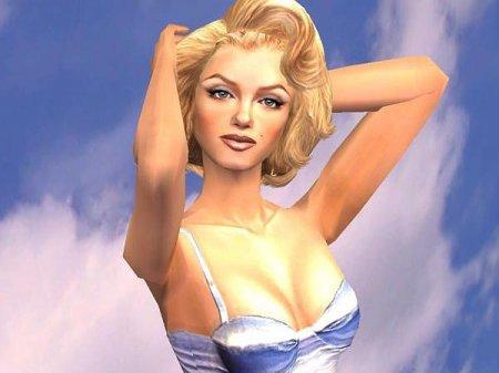 Симка актрисы Мэрлин Монро (Marilyn Monroe) для Sims 2
