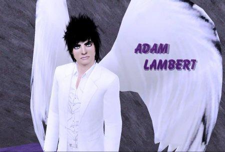 Мой сим Адам Ламберт - американский певец