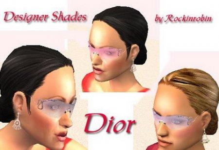 Женские очки для Sims 2
