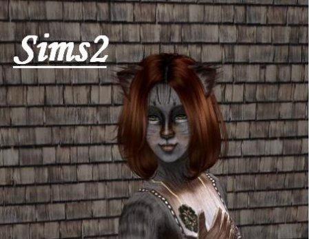 Кожа как у кошки (Sims 2)