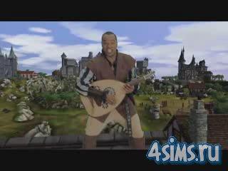 Видеоролик. Съемки The Sims: Средневековье. За кадром.