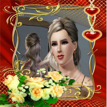 Натали. Симка для Sims 3.