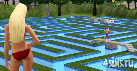 Видеоролик. Любовь в The Sims 3