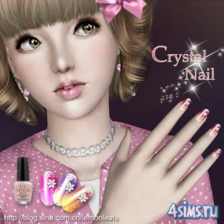 Кристальные ногти (Crystal Nail) от lemonleafs для Симс 3 в формате sims3pa ...