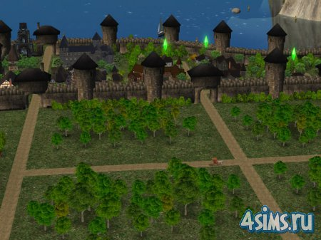Ландшафт The Sims2 Medieval